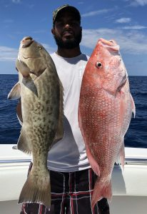 grouper and snapper fishing
