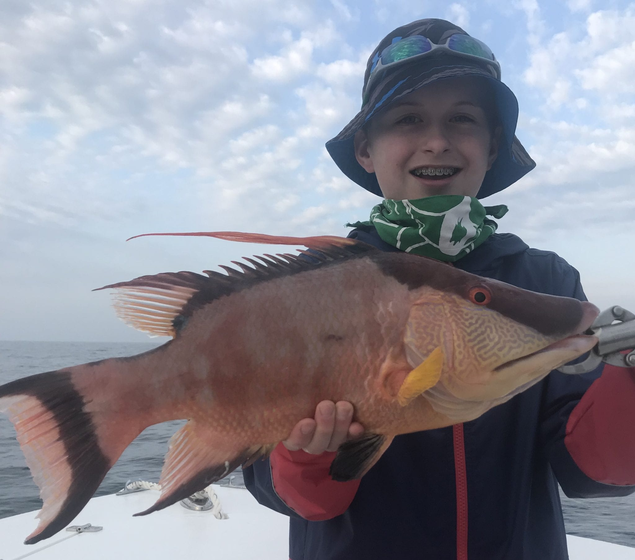 Hogfish fishing charter